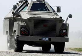 Armored vehicles and troop carriers blast mitigation