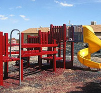 Coating Outdoor Playground Equipment Waterproofs and Prevents Rusting